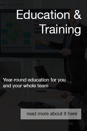 Education and Training Button